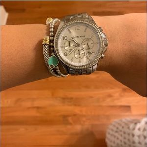 Michael kors watch barely used.